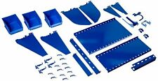 Wall Control Kt-400-Wrk Bu Slotted Tool Board Workstation Accessory Kit for