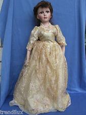Porcelain Doll Puppe Porzellanpuppe mit Brautkleid Neu Ovp