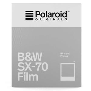 Polaroid Originals SX70 B&W Film Pack for Polaroid SX70 Cameras (8 Shots)