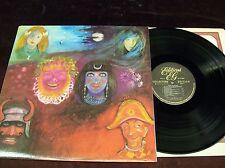 "KING CRIMSON ""IN THE WAKE OF POSEIDON"" GATEFOLD LP 1970/1985 EG MAGMA CAMEL ETC"