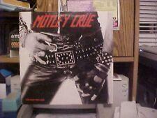 Motley Crue Too Fast For Love European Original Lp