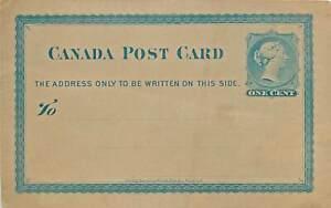 1782 - Canada - Intero postale