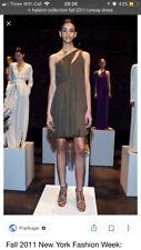 HALSTON COLLECTION Runway Silk Dress