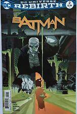 BATMAN  #2 REBIRTH  VARIANT COVER DC Comics 2016 1st Print NM