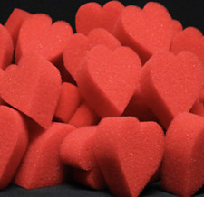 Ultra Soft Red Hearts Bag of 50 by Magic By Gosh