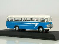 Scale model bus 1:72, Ikarus 311 (1960), blue / white