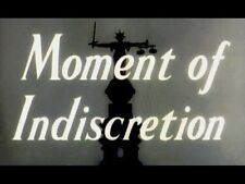 MOMENT OF INDISCRETION, 1958, Lana Morris, Ronald Howard crime: Region 2 DVD-R
