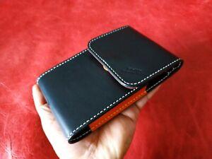Unihertz Titan Leather Protective Cover ( leather wallet case ) # Belt version #