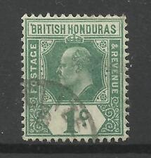 Br Honduras 1904, Sg 84, 1c Grey Green & Green, Fine used.[CW 20]