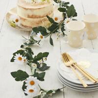 DAISY FLOWERS GARLAND CENTERPIECE FOLIAGE EASTER GREENERY HEN BIRTHDAY WEDDING