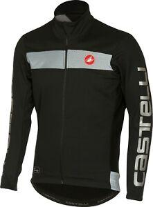 Castelli Raddoppia Men's Windstopper Cycling Jacket Large Black : CLEARANCE SALE