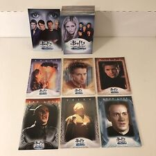 Buffy The Vampire Slayer The Men Of Sunnydale 2005 Complete Card Set w/ Promo P1