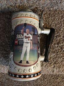 COA: 1996 Cal Ripken Jr A League Of His Own Stein Longton Crown Ltd Edition