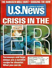 2001 U.S. News & World Report Magazine: Crisis in the ER/Hanssen Mole Hunt