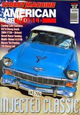 STREET MACHINE JANUARY 2004 56 CHEVY-GT40-TRANS AM-CAMARO-94 PONTIAC-AMERICAN V8