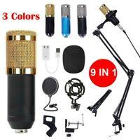 BM-800 Set di registrazione per microfono a condensatore Studio con Shock Mount