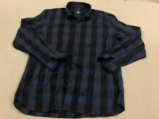 Stone Rose Sz 6 Plaid Fabric Made In Italy L/S Button Up Shirt Plaid A30