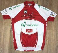 Vaudoise Switzerland SMS Santini Tour De Romandie cycling jersey size XL