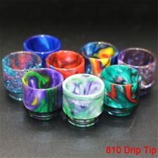 1pcs 810 Drip Tip Epoxy TFV8 TFV12 Resin Mouthpiece Cap For Cloud Beast Big Baby