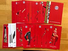 FC Bayern Munich Autograph 2017-18 Original Signed 1 Ak Select