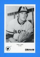 1973 SAN DIEGO PADRES DEANS PHOTO SERVICE RANDY JONES  NM-MT