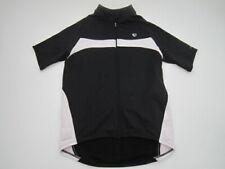 Mens XL Pearl Izumi Elite Series Thermal black full zip cycling jersey