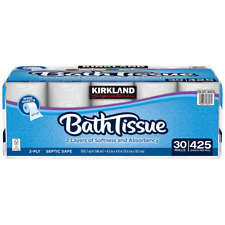 Kirkland Signature Bath Tissue, 2-Ply, 425 sheets, 30 rolls