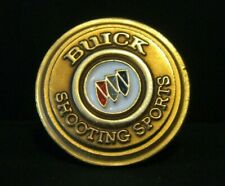 Buick Sports Nssa National Skeet Shooting Association Brass Hat Lapel Pin clay