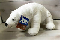 "A90 Kohls Cares Eric Carle Polar Bear Plush 13"" Stuffed Toy Lovey"