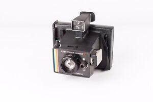 POLAROID SUPER COLOUR SWINGER II LAND CAMERA.   1970's Vintage Instant Camera.
