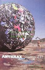 ANTHRAX STOMP 442 • Naked Man & Giant Ball TRASH • Great Original Photo Print Ad
