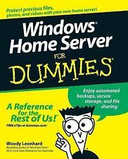 Windows Home Server For Dummies: By Leonhard, Woody