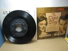 Old 45 RPM Record Set - RCA Victor EPB 3105 - The Desert Song - EP - 2 discs