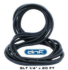 "20 Feet Ft 1/4"" Split Wire Loom Conduit Polyethylene Tubing Car Audio Install"