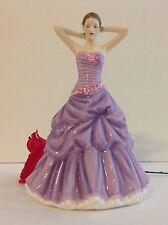Royal Doulton Pretty Ladies SARA, 24719 Figurine  Lavendar NIB Tags LIST $280