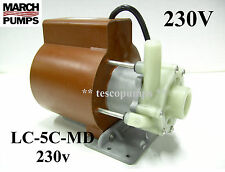 March LC-5C-MD  230v 50/60hz 1000 gph Submersible pump Cruisair PML1000C