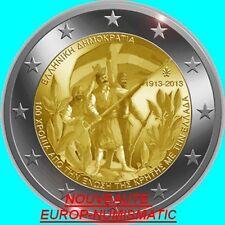 """GRECE 2013 2 EURO COMMEMORATIVE """" CRETE """"   PREVENTE   PRIX TOP :  3,65 €"""