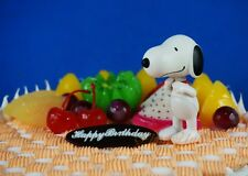 Peanuts Snoopy and Friends Snoopy Poseble Decoration Figure Cake Topper K1020_R