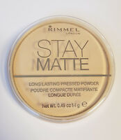 Rimmel Stay Matte Long Lasting Pressed Powder Mattierender Puder Transparent 001