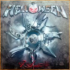 HELLOWEEN 7 Sinners Hand Signed By All 5 Ltd Ed RARE Poster +FREE Metal Poster!