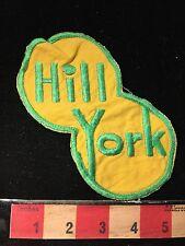 Old Vintage HILL YORK Company Advertising Patch ? HVAC FT. LAUDERDALE FL ? 60WR