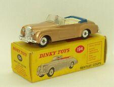 Rare  Dinky #194 Bentley S2 Coupe NM /Original Box
