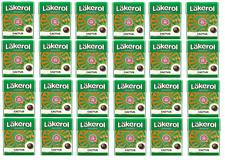 Cloetta Läkerol Cactus Sugar Free Liquorice Pastilles Candy 25g * 24 pack 21oz