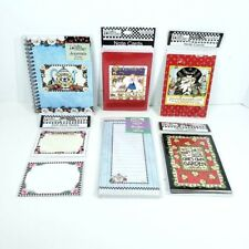 Mary Engelbreit Note Paper 6 Pieces Stick Notes Journal List Pad Note Cards Nos
