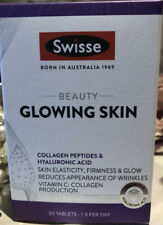 🌝 SWISSE 🌝 bellezza Brillante Pelle Integratori 🌝 NUOVO & Sealed 🌝 Scatola di 30 🌝 RRP £ 35 🌝