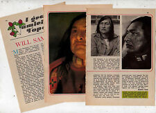 Q49  Clipping-Ritaglio  del 1977 Will Sampson