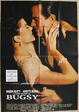 (P351) Orig. Kinopl. BUGSY Warren Beatty / Annette Benning --DIN A0 84 x 120 cm