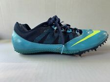 Nike Zoom Rival Sz 8.5 Mens Track Spike Sprint Shoes Gamma Blue/Volt-Brave Blue