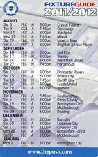 Fixture List - Peterborough United 2011/12