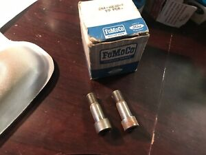 NOS FORD OIL PUMP MOUNTING BOLTS 1952 1953 1954 215-223 6 CYLINDER EAA-6638-A